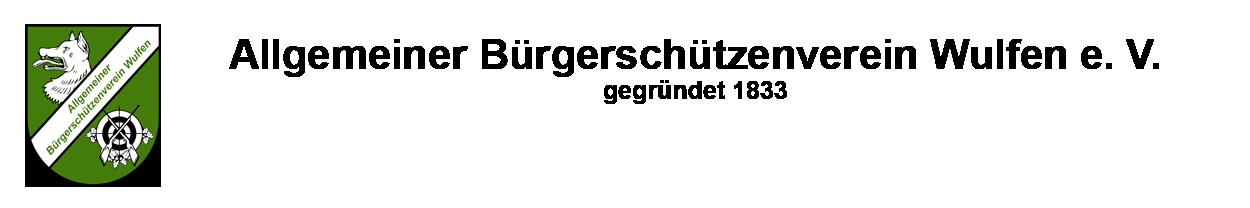 Allgemeiner Bürgerschützenverein Wulfen e.V.